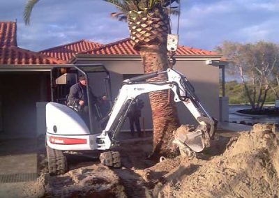 site clearing landscaping