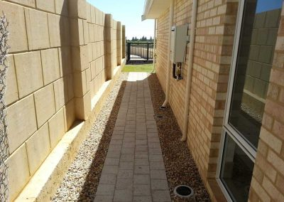 stepper path pave landscaping