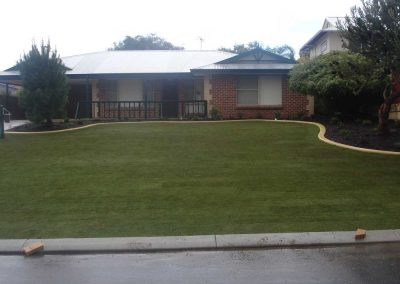 garden edging turf landscaping
