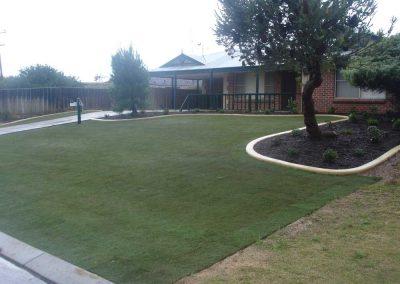 garden edging hardscaping turf landscaping