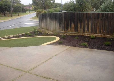 garden edging hardscaping