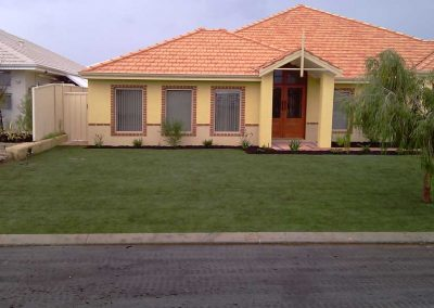 residential reticulation installation and landscaping