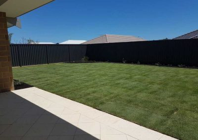 residential turf installation and landscaping