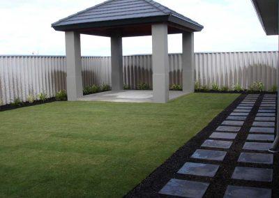 garden turf installation landscaping