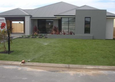 lawn garden reticulation landscaping inspiration