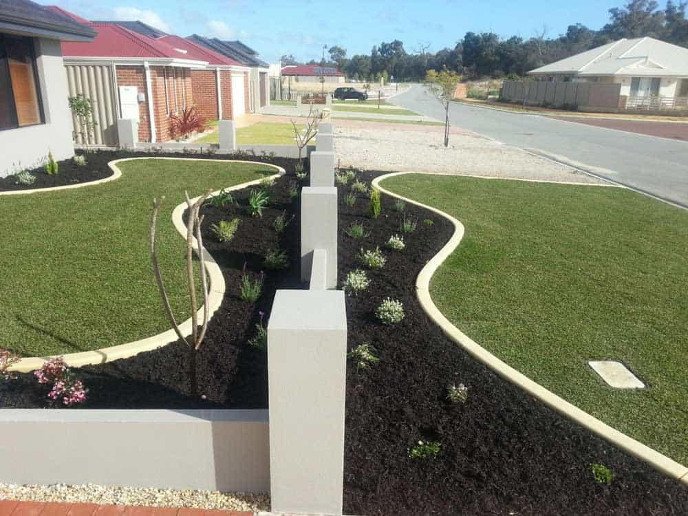 lawn garden edging landscaping inspiration