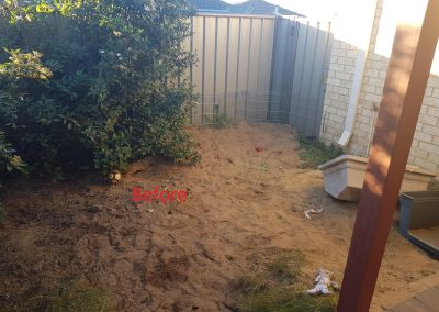 backyard makeover baldivis