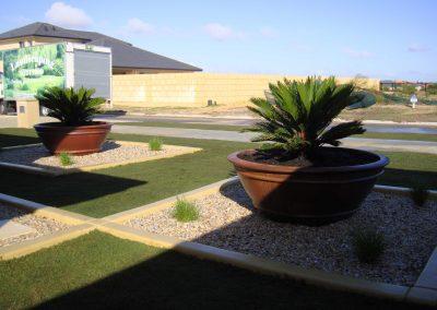 garden turf installation
