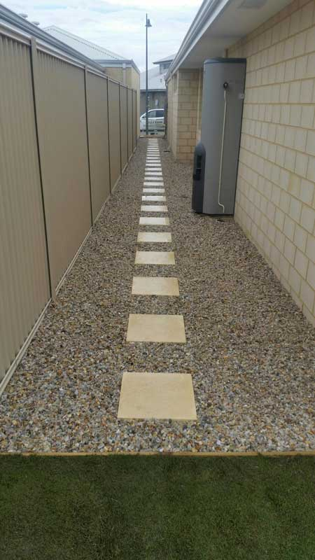 stepper path landscaping idea