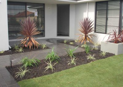 planting and pave landscaping inspiration