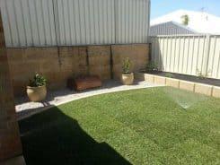 reticulation garden installation