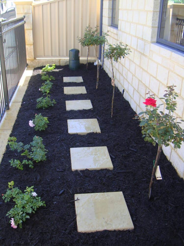 garden stepper paths landscaping