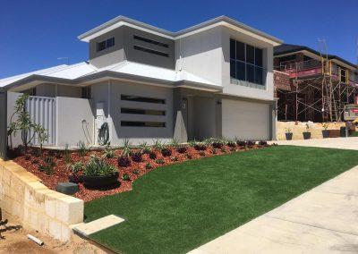 turf installation garden