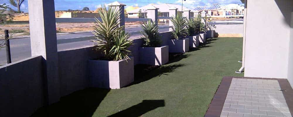 borders and edging landscaping perth