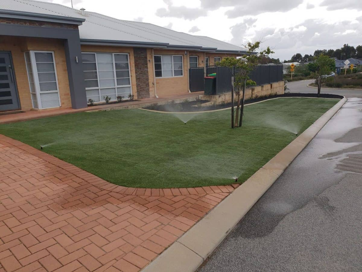 Front Lawn Reticulation