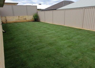Back Yard Lawn Makeover - Baldivis