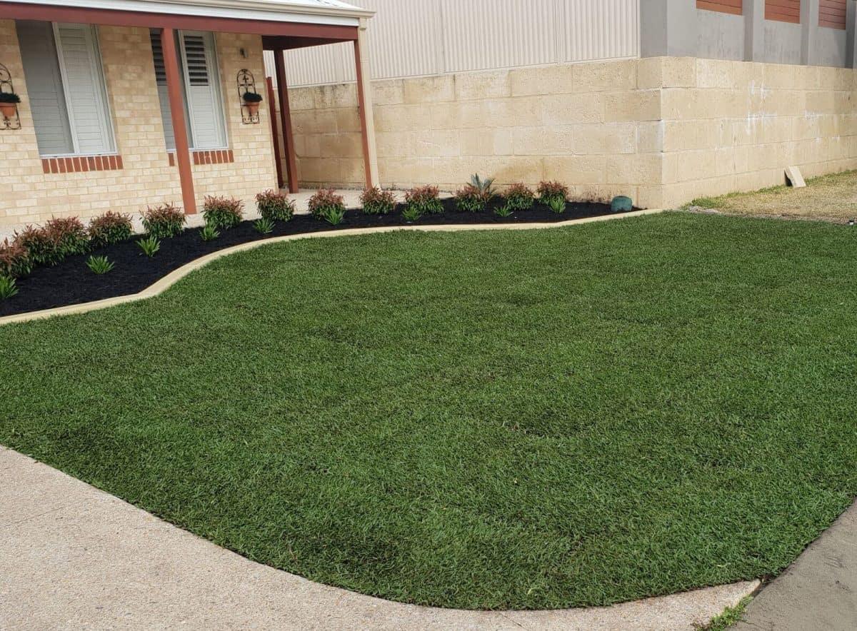 Front Yard Landscaping Makeover Baldivis