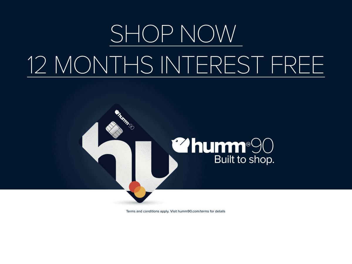 Shop now 12 months interest free
