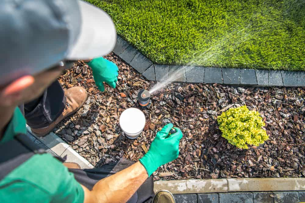 irrigation and reticulation for gardens